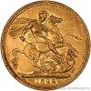 4172 1 zlata mince britsky double sovereign george iv