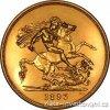 4373 1 zlata mince britska petilibra victoria 1893