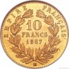 5117 1 zlaty francouzsky 10 frank napoleon iii 1861 1868