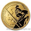 6404 investicni zlata mince darth vader star wars 2018 1 oz