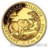 6818 investicni zlata mince somalsky slon 2019 african wildlife 1 oz