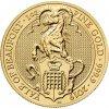 Investiční zlatá mince Yale of Beaufort 2019-heraldická série 1 Oz