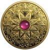 Zlatá mince Světlo a prosperita s rubínem -2019 proof Kanada