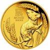 Zlatá mince rok krysy 2020 1/10 Oz proof- lunární série III.