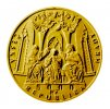 Zlatá mince hrad Švihov 2019 proof