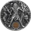 Investiční stříbrná mince Slovanští bohové- Perun 2 Oz