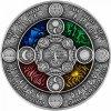 Stříbrná mince Slovanský kalendář 2 Oz 2020