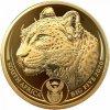 Moderní zlatá mince Leopard 2020 proof 1 Oz