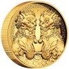 Moderní zlatá mince dvojitý Pixiu 2 Oz-2020