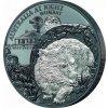 Stříbrná moderní mince Noční Austrálie: Wombat 1 Oz 2021