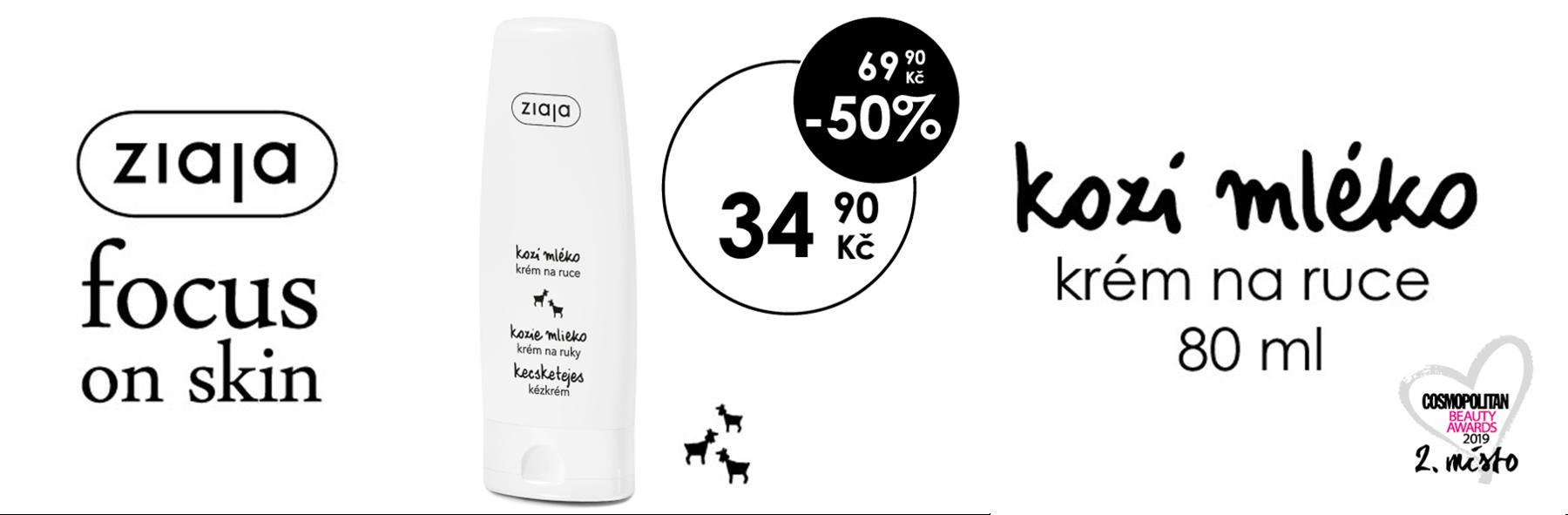 Kozí mléko Krém na ruce -50%