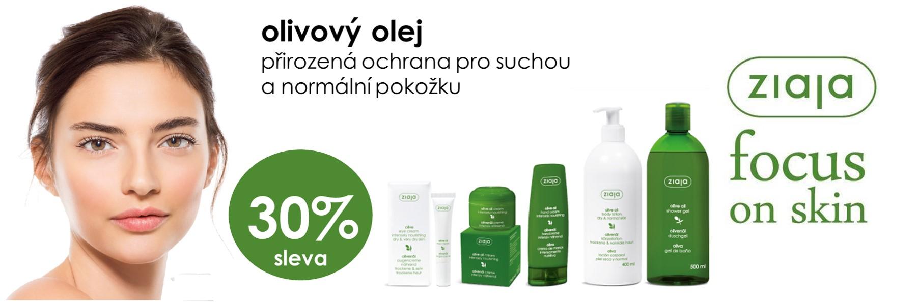 Olivový olej -30%