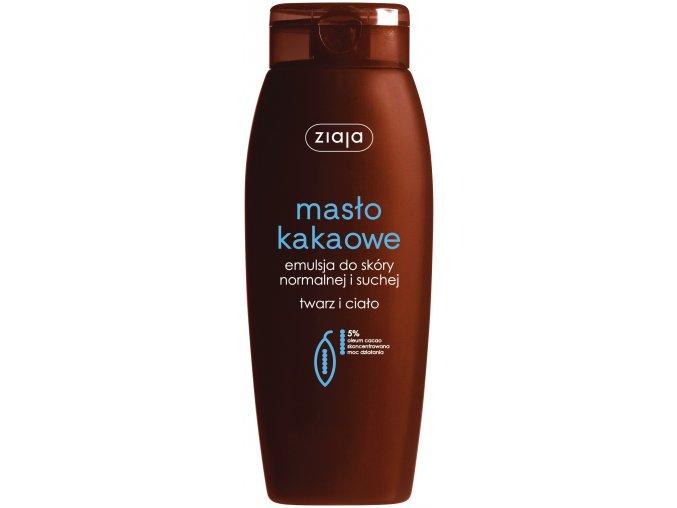 kakaové máslo  emulze na obličej a tělo hydratační 200ml