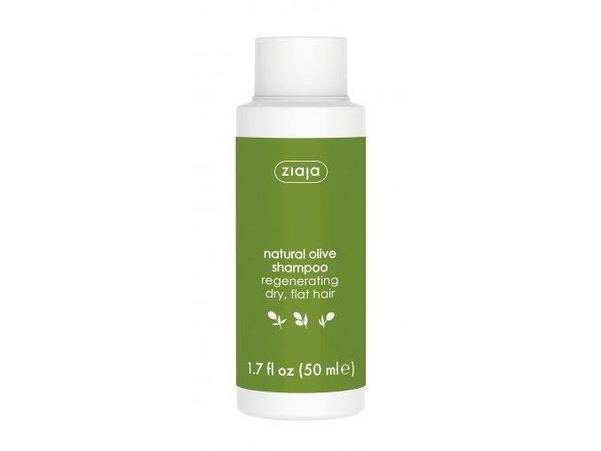 olivový olej  šampon na vlasy 50ml