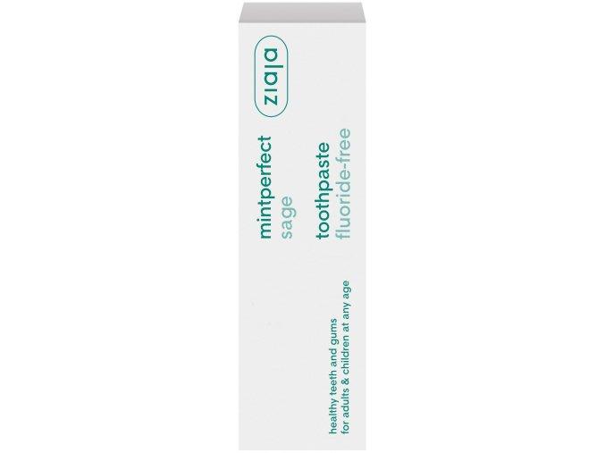 mintperfect  zubní pasta se šalvějí bez fluoru 75ml