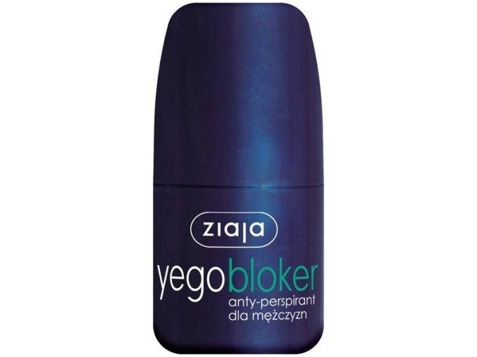 men  antiperspirant blocker roll-on 60ml