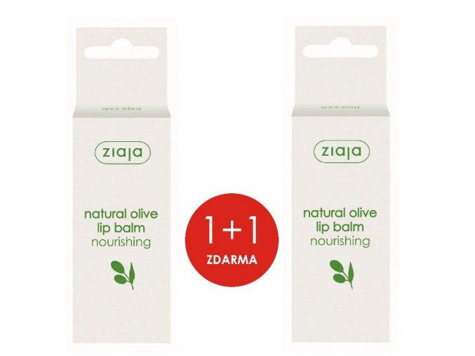 sada olivový olej  balzám na rty 10ml (1+1)