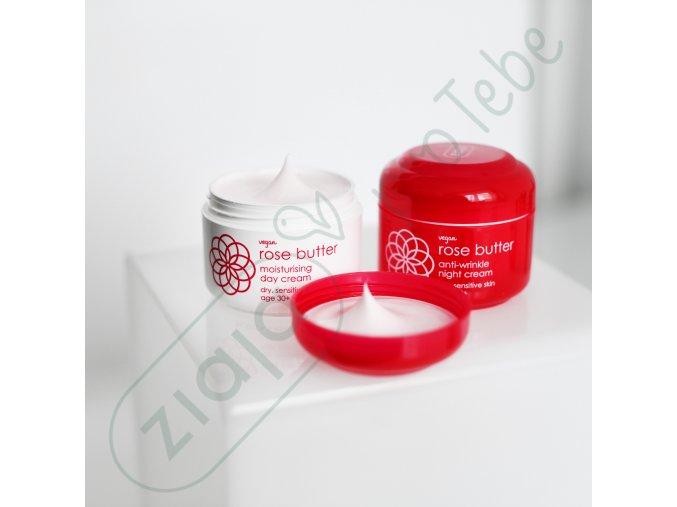 růžové máslo 30+  noční krém proti vráskám 50ml