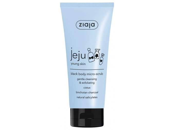 15599 GB DE ES CZ SK HU JEJU BLACK MICRO SCRUB BODY WASH 65115