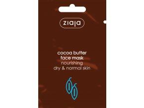 kakaové máslo  pleťová maska vyživující 7ml