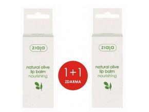 sada přírodní oliva  balzám na rty 10ml (1+1)