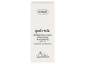 11205 S CZ GOAT S MILK ULTRALIGHT FACE CREAM SPF15 16091 50468 bs