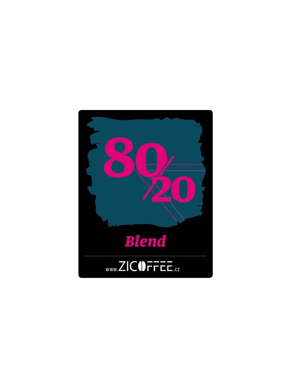 Zicoffee 80/20 blend