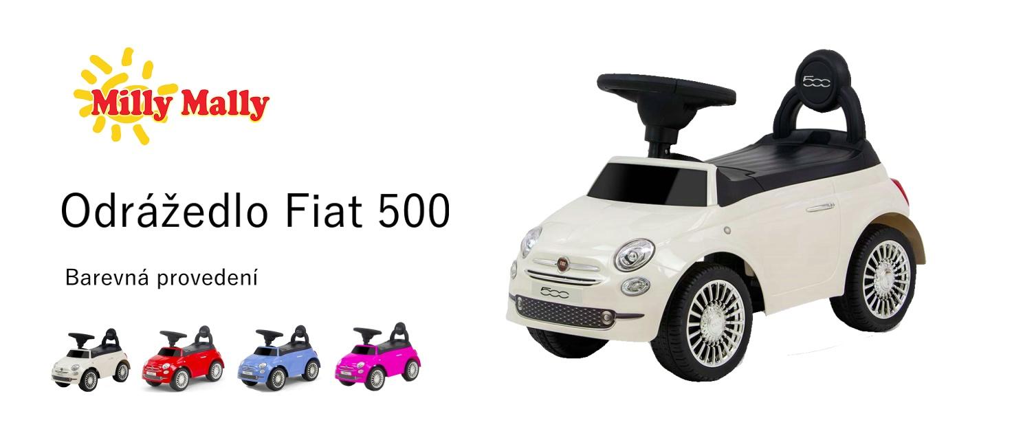 Odrážedlo Fiat 500