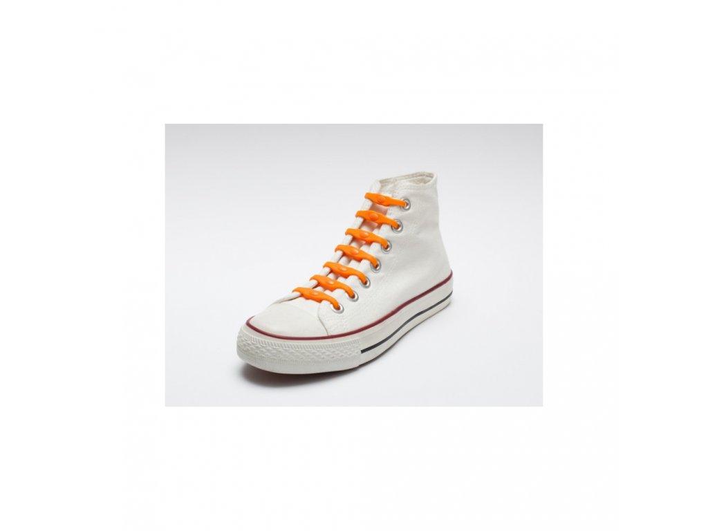 Shoeps Silikonové tkaničky Orange Dutch