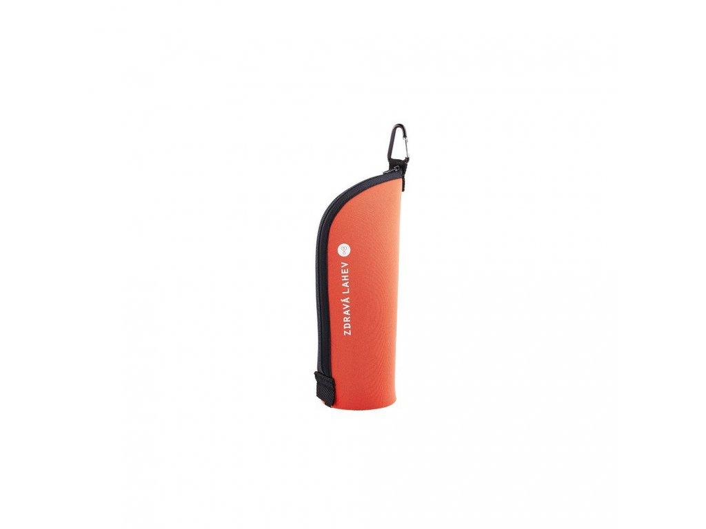 Zdravá lahev Termoobal Cabrio  0,7 l oranžová cihla