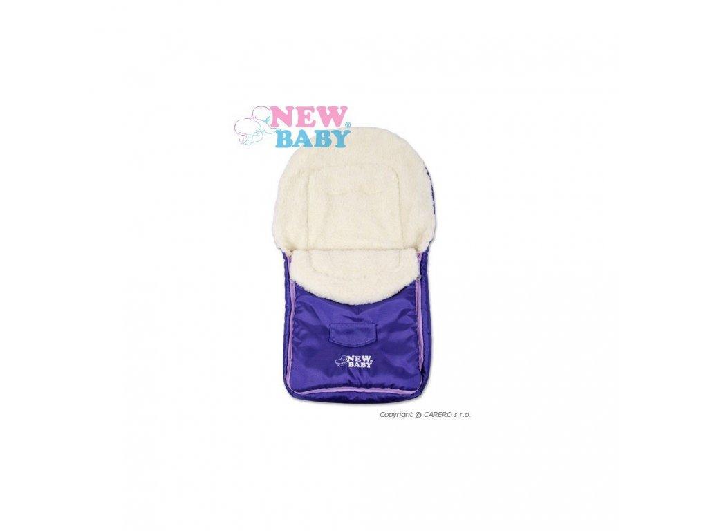 Zimní fusak New Baby Classic Wool Violet