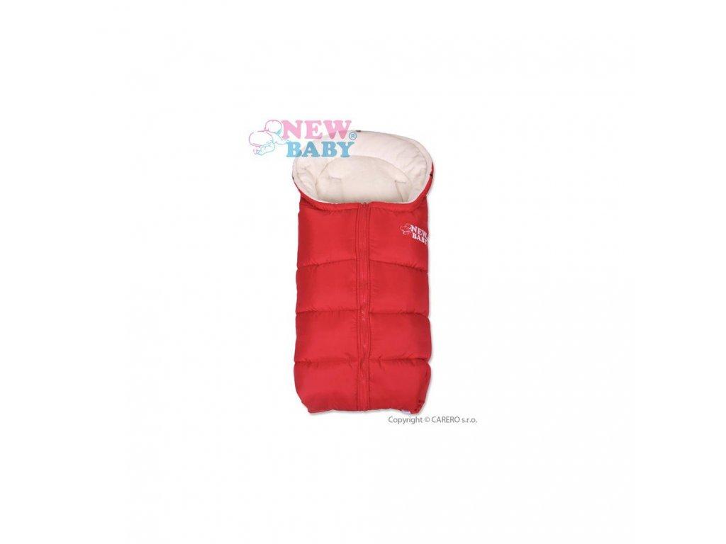 New Baby Zimní fusak Fluffy Red