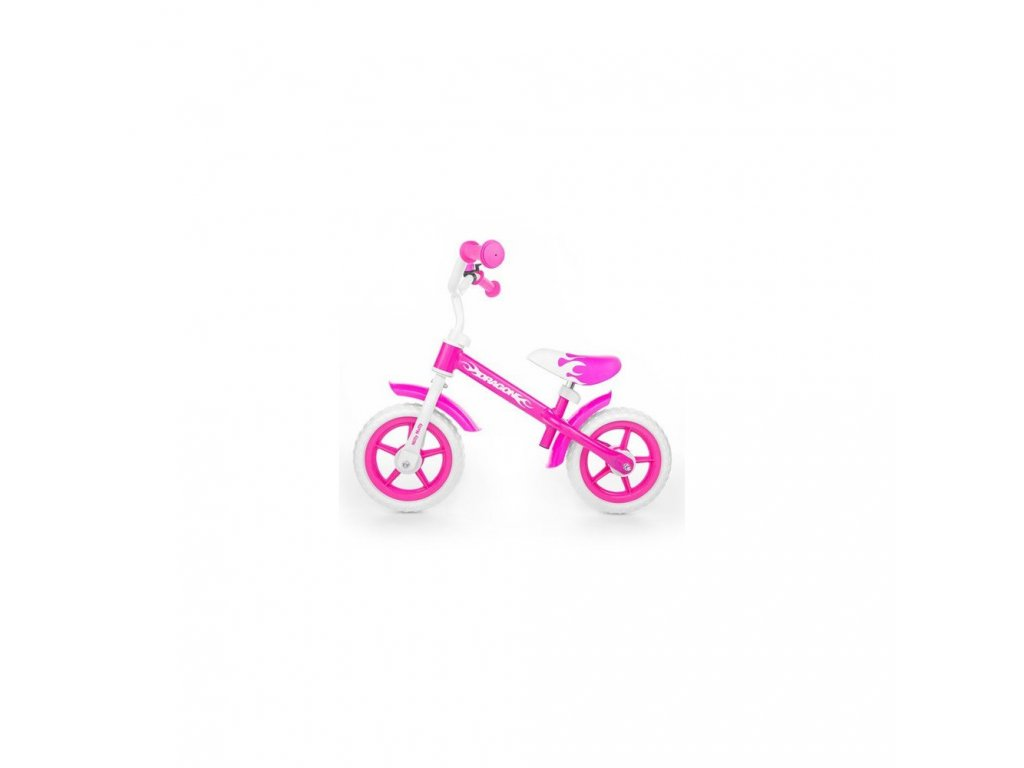 Milly Mally Dragon Pink s brzdou
