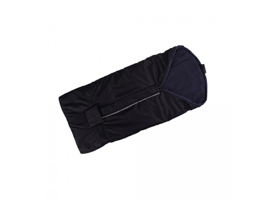 Kaarsgaren fusak černo šedý s fleece podšívkou