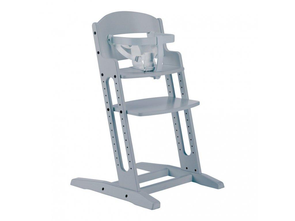 BabyDan jídelní židlička Dan Chair Grey