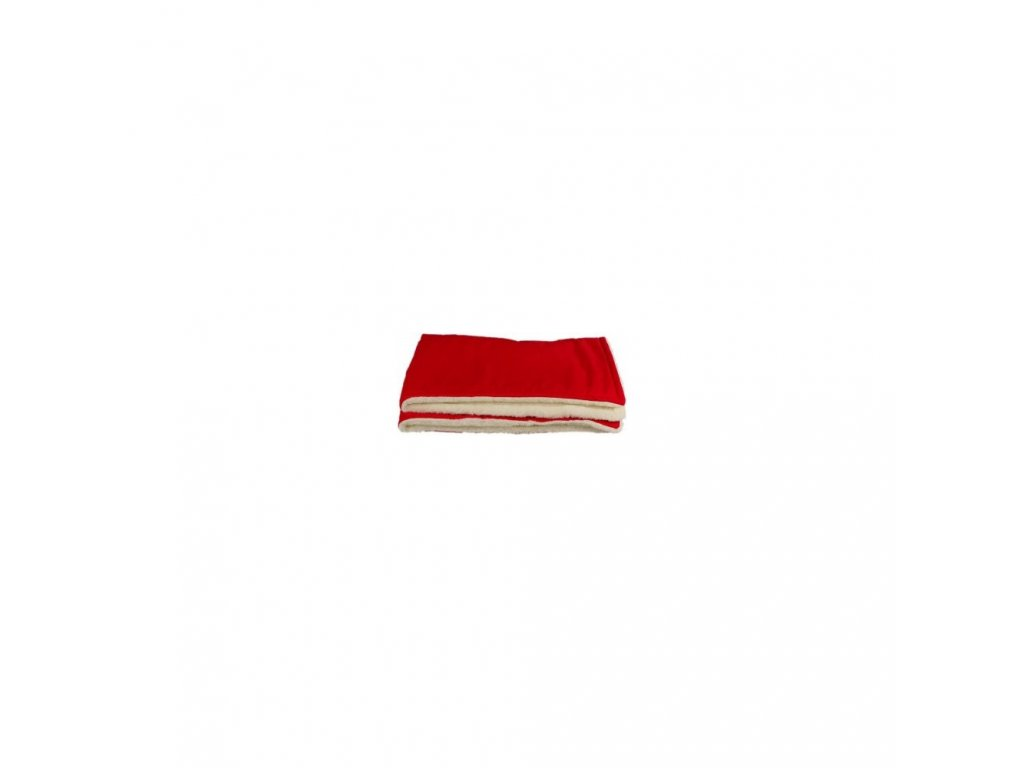 Kaarsgaren zimní dětská merino deka červená