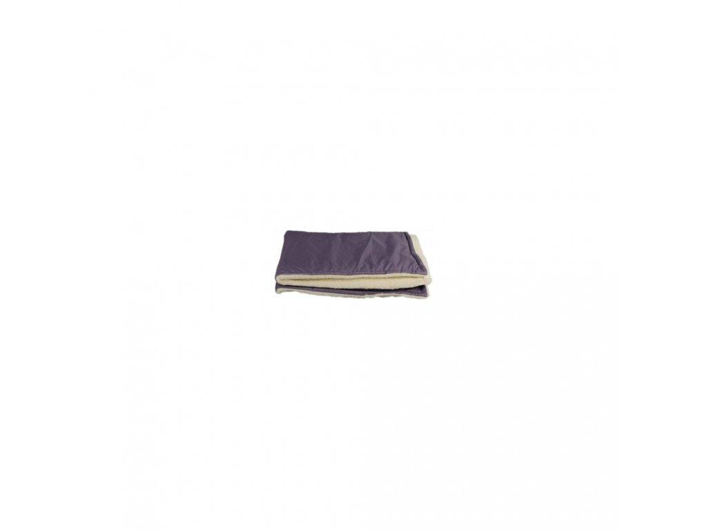 Kaarsgaren zimní dětská merino deka šedá