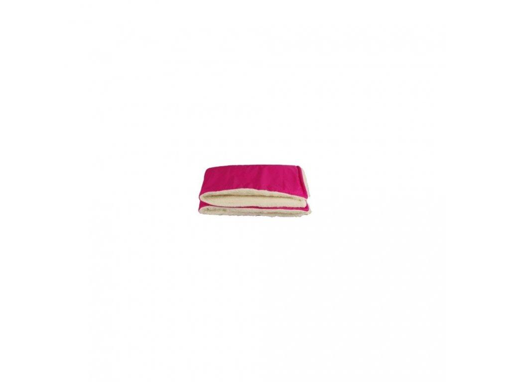 Kaarsgaren zimní dětská merino deka růžová