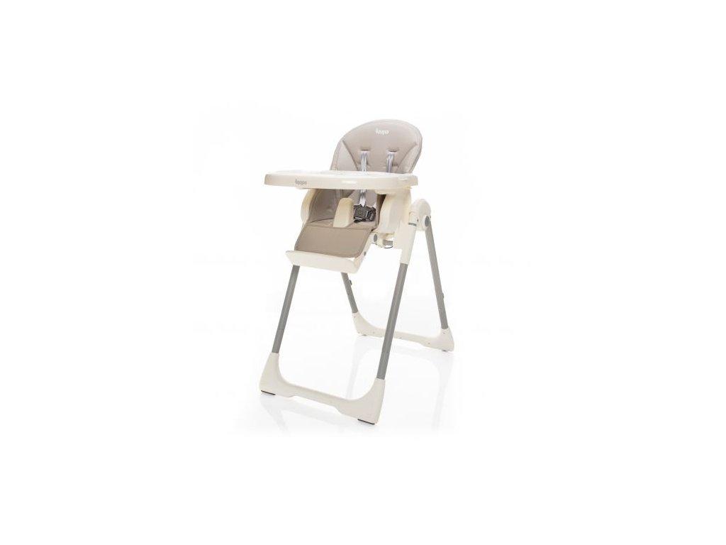 Zopa dětská židlička Ivolia Beige Grey
