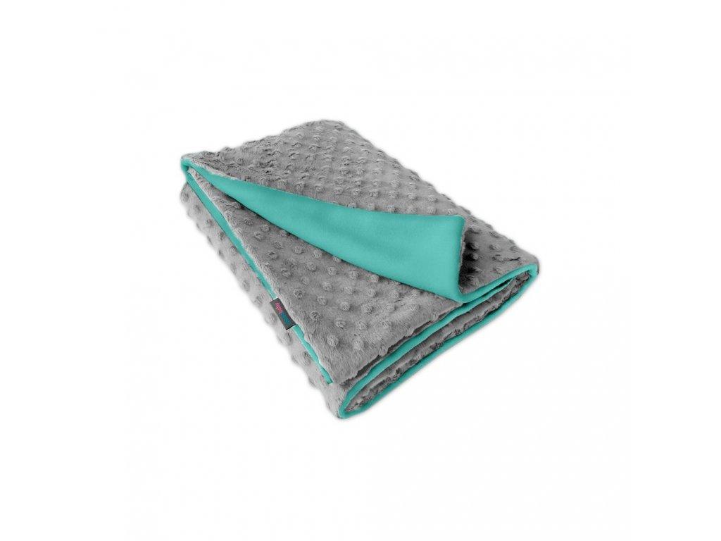 Ivemababy deka Minky/Fleece mentol