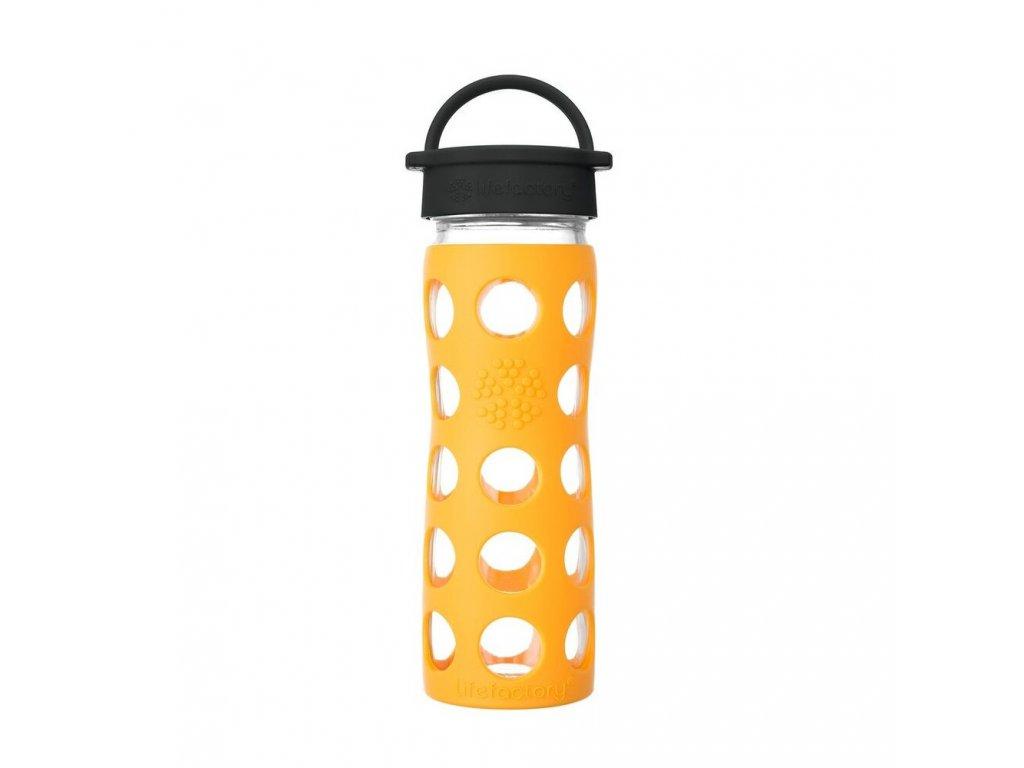 Lifefactory láhev s klasickým uzávěrem 350 ml Marigold