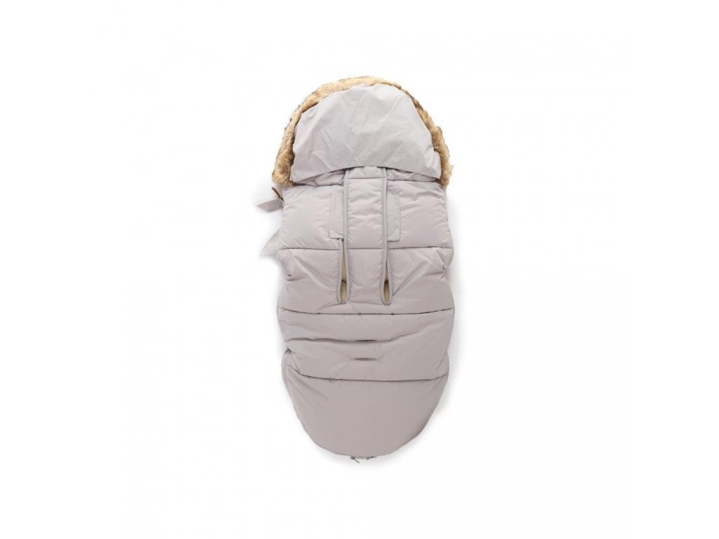 Zopa zimní fusak Fluffy Foggy Grey