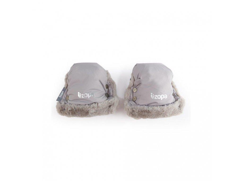 Zopa zimní rukavice Fluffy Foggy Grey