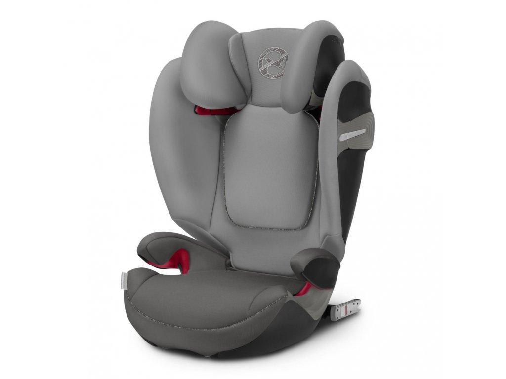 Cybex autosedačka Solution S-FIX Manhattan Grey  2019