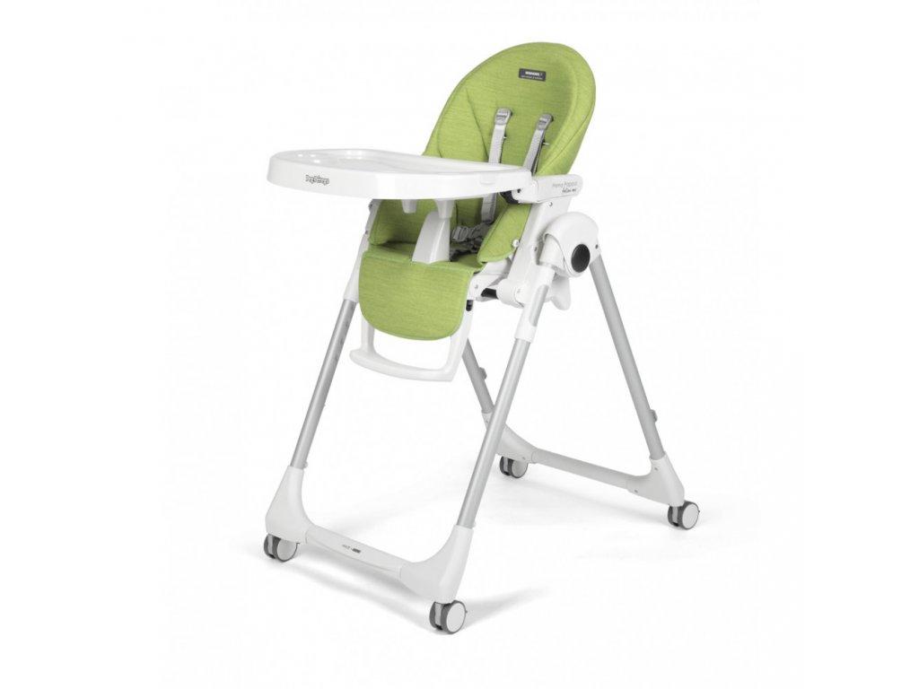 Peg Pérego jídelní židlička Prima Pappa Follow Me Wonder Green 2020