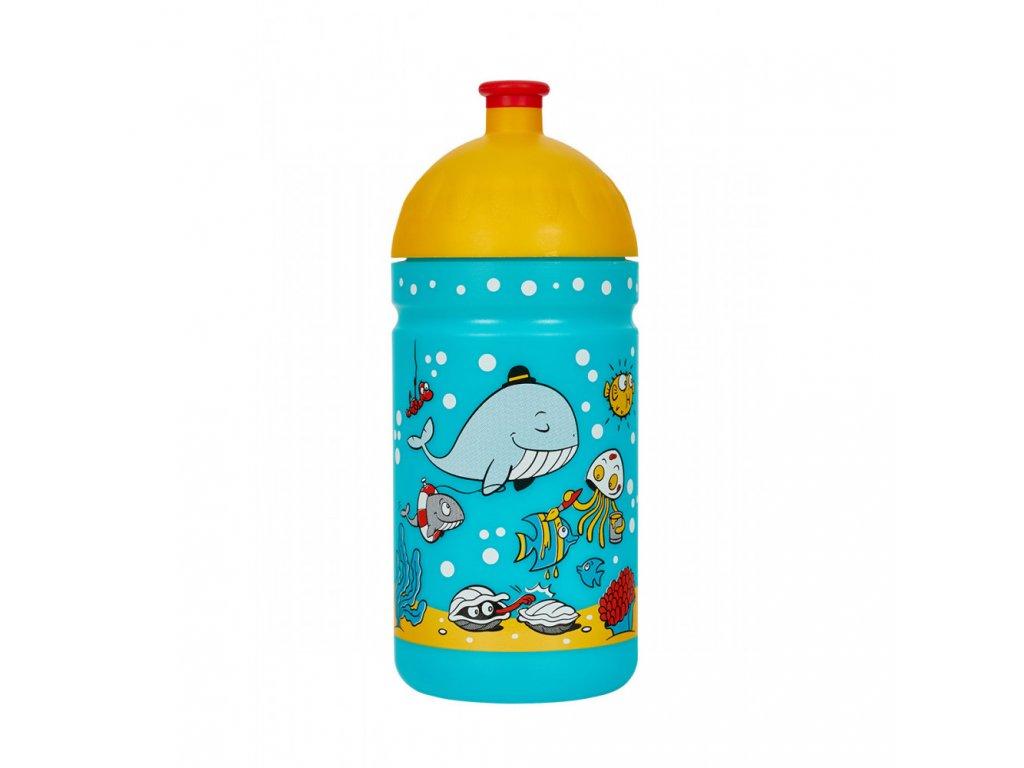 Zdravá lahev  Mořský svět 500 ml