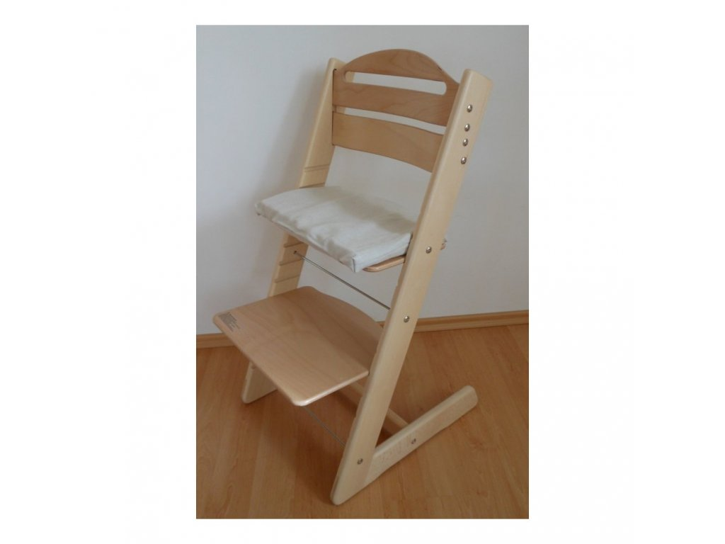 Rostoucí židle Jitro BABY přírodní lakovaná