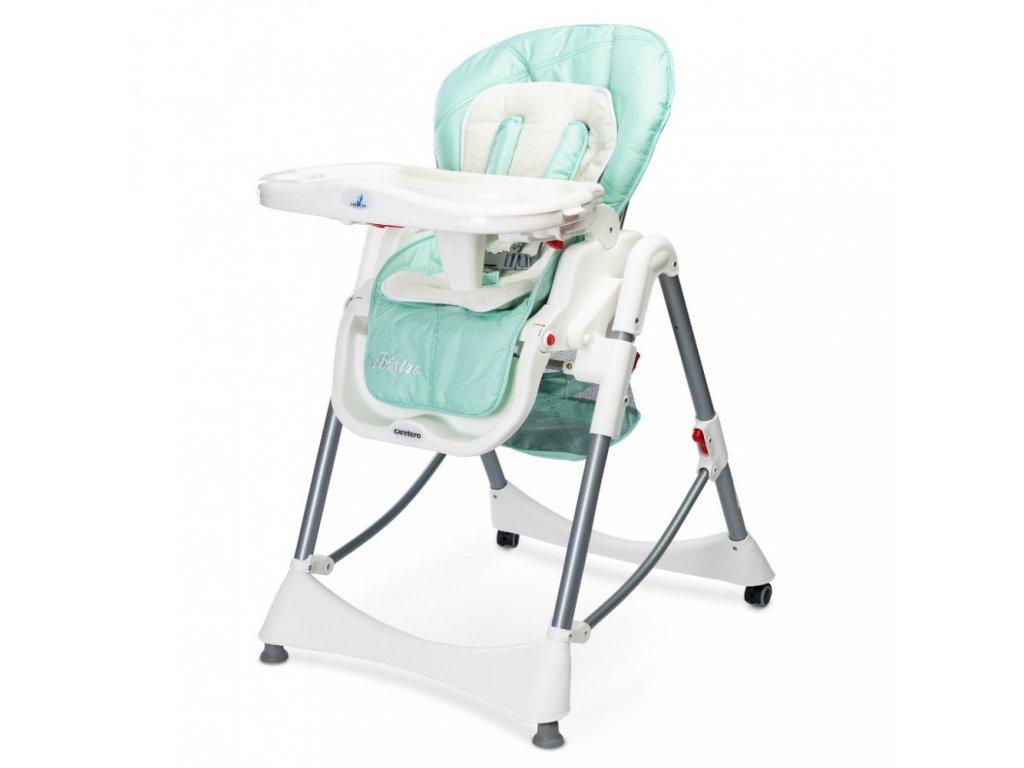 Caretero jídelní židlička Bistro 2019 Mint