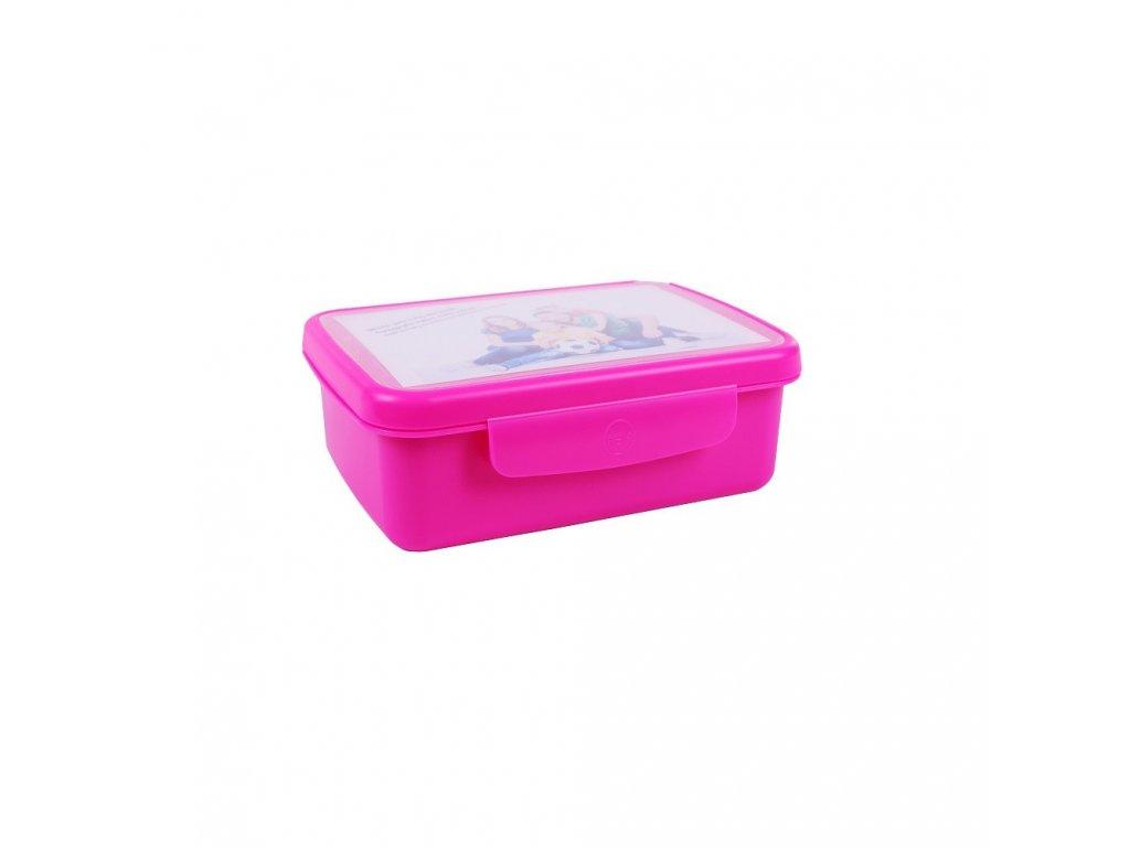 Zdravá sváča komplet box FLUO fialová