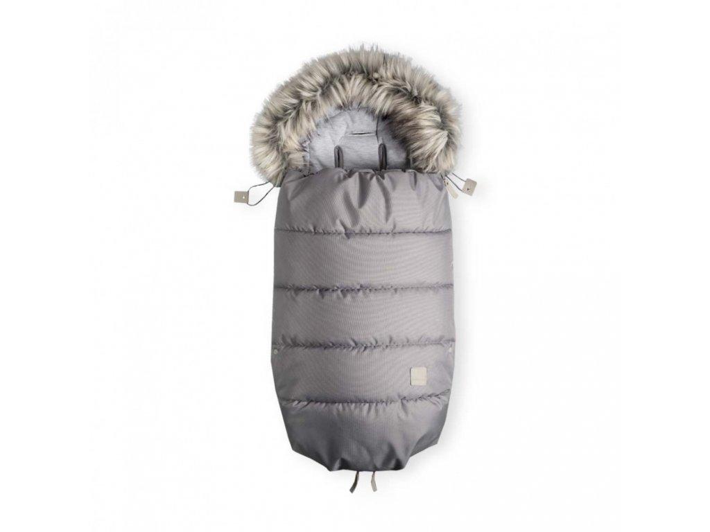 Beztroska Fusak s kožešinou 100 cm Dove Grey